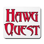Hawg Quest Mousepad
