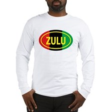 Zulu / Garvey Euro/Yellow Long Sleeve T-Shirt