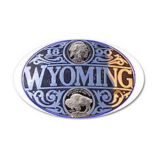 Wyoming 22x14 Oval Wall Peel
