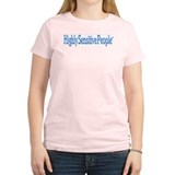 High Sensitivity Women's Pink T-Shirt