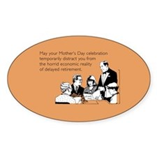 Mother's Day Celebration Sticker (Oval)