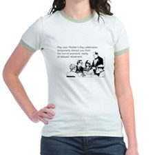 Mother's Day Celebration Jr. Ringer T-Shirt