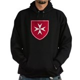 Cross of Malta Hoodie (Dark)