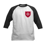 Cross of Malta Kid's Baseball Jersey