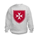 Cross of Malta Kid's Sweatshirt