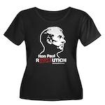 Ron Paul Revolution Women's Plus Size Scoop Neck D