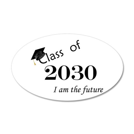 Born in 2012/Class of 2030 35x21 Oval Wall Decal