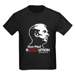 Ron Paul Revolution Kids Dark T-Shirt