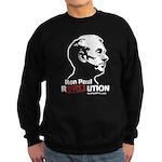 Ron Paul Revolution Sweatshirt (dark)