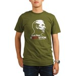 Ron Paul Revolution Organic Men's T-Shirt (dark)