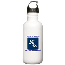 This gif is animated, but I h Water Bottle
