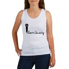 Born to Sing Women's Tank Top