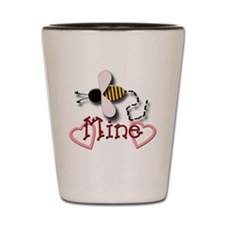 Bee Mine Shot Glass