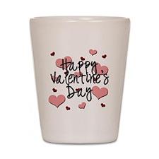 Valentine's Day Shot Glass