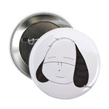 "Happy dog face 2.25"" Button"