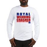 Royal Wedding Crasher Long Sleeve T-Shirt