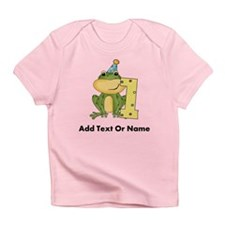 Custom Frog 1st Birthday Infant T-Shirt