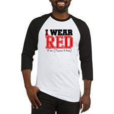 Custom I Wear Red Baseball Jersey