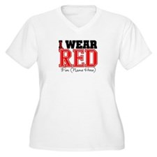 Custom I Wear Red T-Shirt