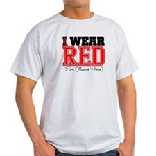 Custom I Wear Red T-Shirt
