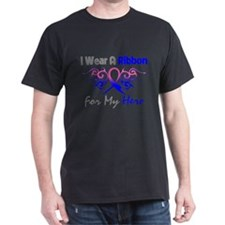 Male Breast Cancer Hero T-Shirt