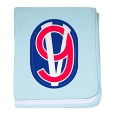 Cute 95th infantry division baby blanket