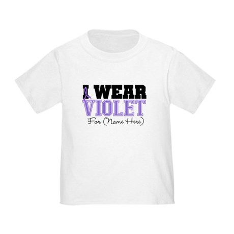 Custom Violet Hodgkins Toddler T-Shirt