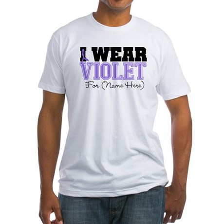 Custom Violet Hodgkins Fitted T-Shirt