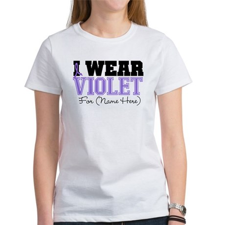 Custom Violet Hodgkins Women's T-Shirt
