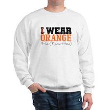 Custom I Wear Leukemia Sweater