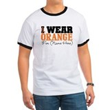 Custom I Wear Leukemia T