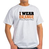 Custom I Wear Leukemia Tee-Shirt