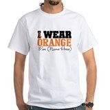 Custom I Wear Leukemia Shirt