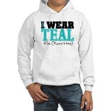 Custom Teal Ovarian Cancer Jumper Hoody