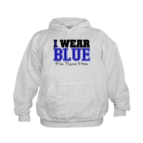 Custom Colon Cancer Kids Hoodie