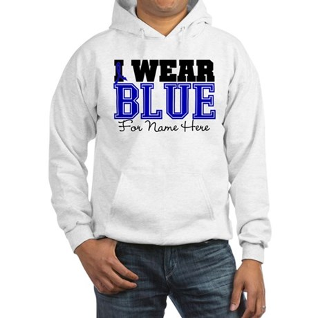 Custom Colon Cancer Hooded Sweatshirt