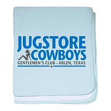 Jugstore Cowboys baby blanket