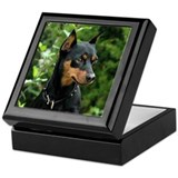 Min Pin Artwork Keepsake Box