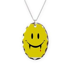 Vampire Smiley Necklace
