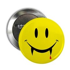 "Vampire Smiley 2.25"" Button (100 pack)"