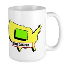 """I Love North Dakota"" Mug"