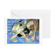 What did you want me to read  Greeting Cards (Pack