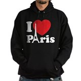I love Paris Hoodie