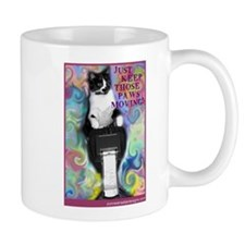 Keep Those Paws Moving! Mug