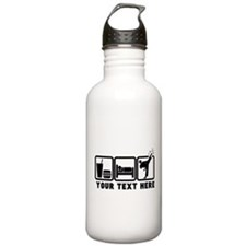 EAT-SLEEP-TKD Sports Water Bottle