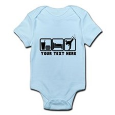 EAT-SLEEP-TKD Infant Bodysuit