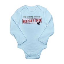 My Favorite Breed Is Rescued Infant Bodysuit