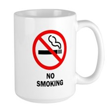 Funny No smoking Mug