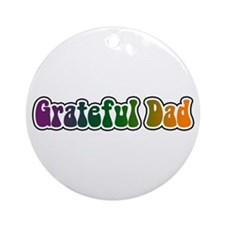 Grateful Dad Ornament (Round)