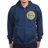 World's Best Stepdad Zip Hoodie